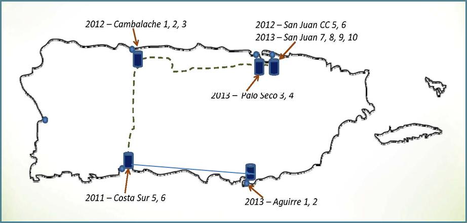 Planned Gas Pipelines PR